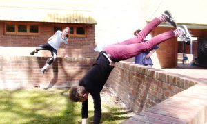 Barker College Parkour Camp Jump Squad